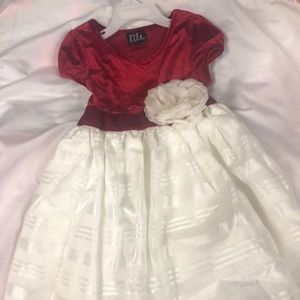 Red and white Lilt dress